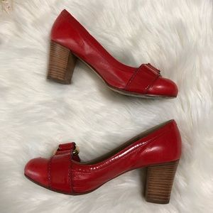 Chloe Shoes - ❤️NEW LISTING❤️ Chloe red leather pumps